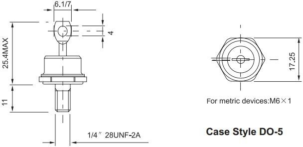 60hf(r)出口型-普通整流二极管